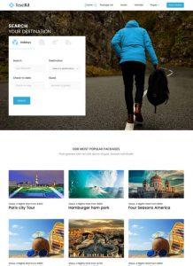 Thiết kế website du lịch, tour, tourist, travel chuyên nghiệp, uy tín